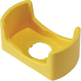 Protective collar (L x W x H) 74 x 42 x 35 mm Yellow