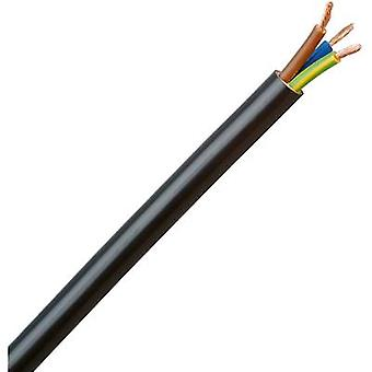 Flexible cable H05VV5-F 3 G 1.50 mm² Black Kopp