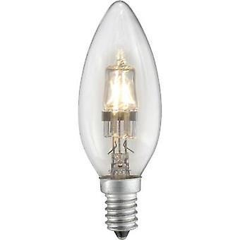 Eco halogen 97 mm Sygonix 230 V E14 42 W Warm white EEC: C Candle shape dimmable 1 pc(s)