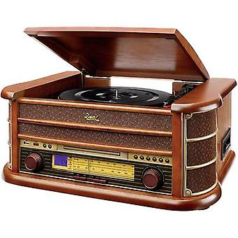 USB turntable Dual NR 4 Belt drive Wood