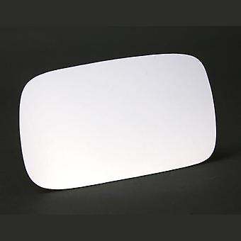 Left Stick-On Mirror Glass for VW CADDY mk2 Estate 1995-2004