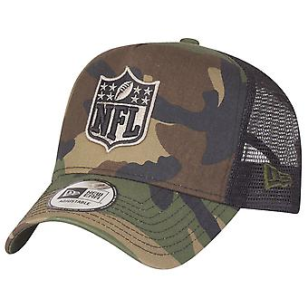 New era adjustable Trucker Cap - NFL Shield wood camo