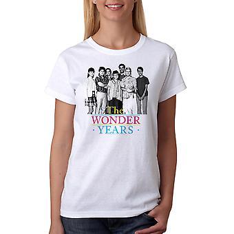 Underligt år simpel Cast kvinders hvid T-shirt