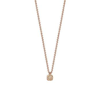 ESPRIT women's chain necklace silver Rosé Zirkonia Petite glam ESNL92795B420