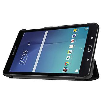 Premium Smartcover Schwarz für Samsung Galaxy Tab E 8.0 T377V T375