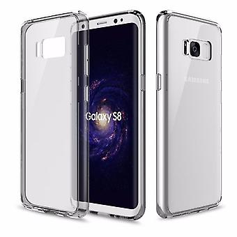 Original ROCK silicone case bag transparent / grey for Samsung Galaxy S8 G950 G950F