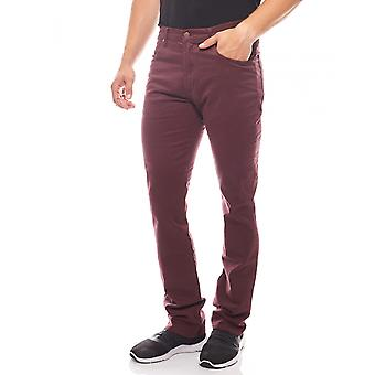 Wrangler jeans mens Arizona stretch Bordeaux