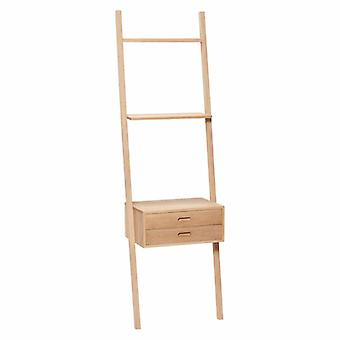Hübsch Display ladder 52 x 41 x 180 cm oak with load