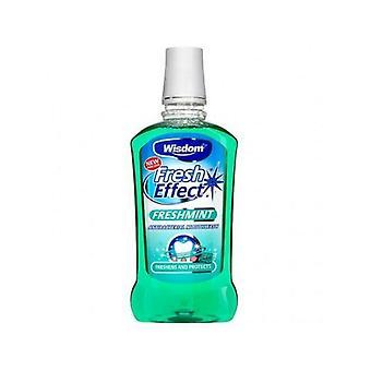 Visdom frisk effekt Freshmint munnvann 500ml