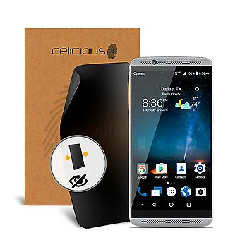 Celicious Privacy 2-Wege Anti-Spy Filter Screen Protector Film kompatibel mit ZTE Axon 7