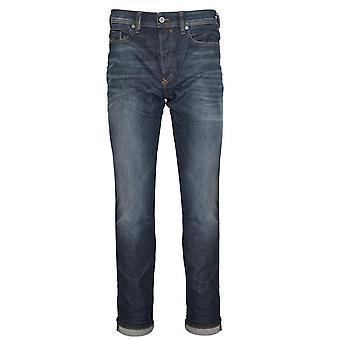 Diesel Diesel Regular Slim Fit Buster Blue Wash Jean
