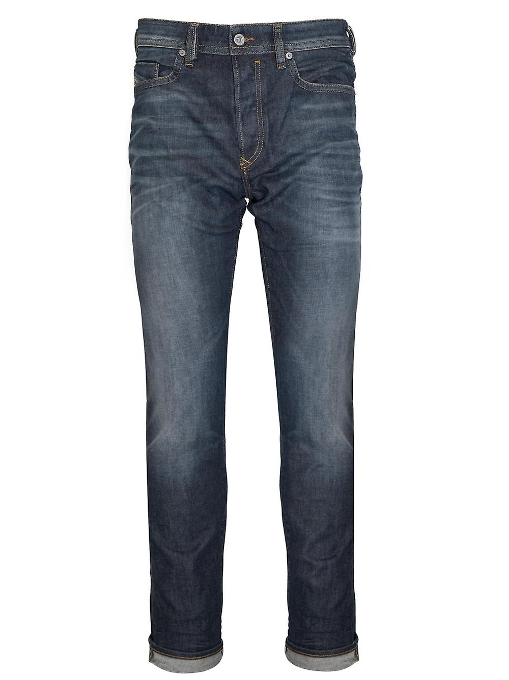 Diesel Diesel Regular Slim Fit Buster Blue Wash Jean