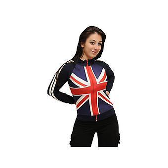 Union Jack usure Union Jack Mesdames Zippés Top