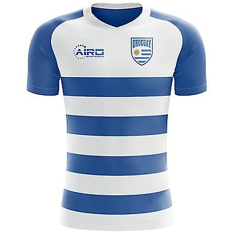2018-2019 Uruguay Flag Concept Football Shirt