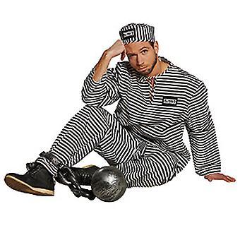 Fange fangen fengsel kostyme menn