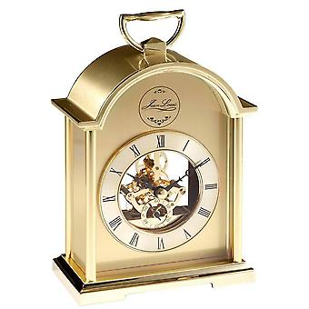 Woodford Skeleton Movement Carriage Clock - Gold