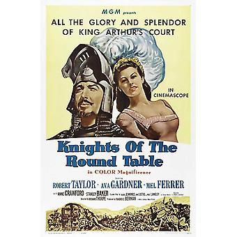 Knights of the Round Table Movie Poster (11 x 17)