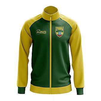 Etiópia conceito futebol Track Jacket (verde)