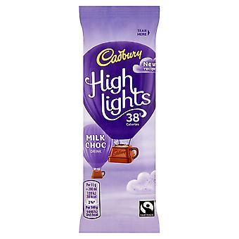 Cadbury unterstreicht trinken heiße Schokolade Beutel