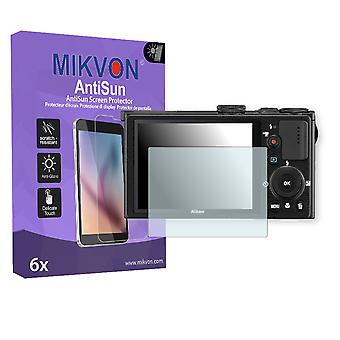 Nikon COOLPIX P330 Screen Protector - Mikvon AntiSun (Retail Package with accessories)