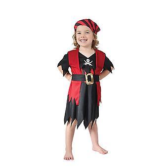 Pirate Girl Toddler, 90-104cm.