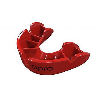 OPro Junior brons 4 mond bewaker rood Gen