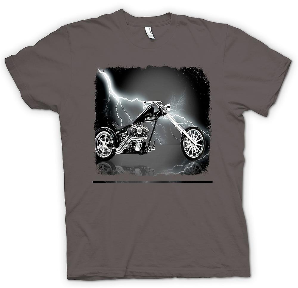 Mens t-shirt-Chopper Biker Hog