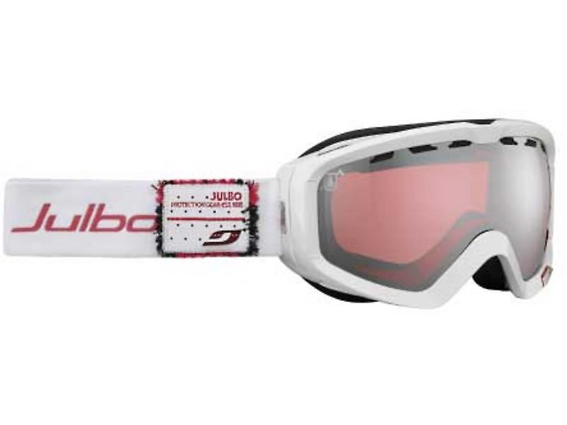Julbo Planet Goggles (Vermillon Silver Flash Lens White / Red Frame)