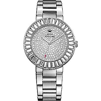 Juicy Couture Ladies' 1901177 Grove Stone Set Silver Steel Watch