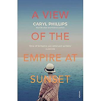 En visning av imperiet ved solnedgang