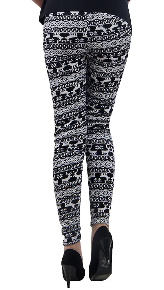 Waooh - Winter Legging pattern reindeer Roid