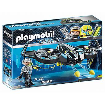 Playmobil 9253 Top Agents Mega Drone with Firing Weapons