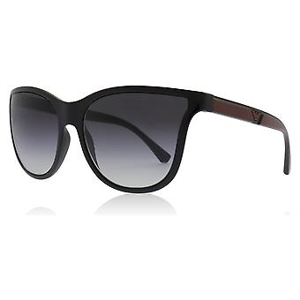 Emporio Armani EA4112 50178G Black EA4112 Butterfly Sunglasses Lens Category 3 Size 57mm