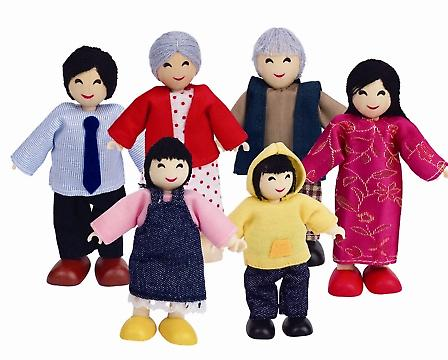 HAPE Happy Family - asiatiska E3502