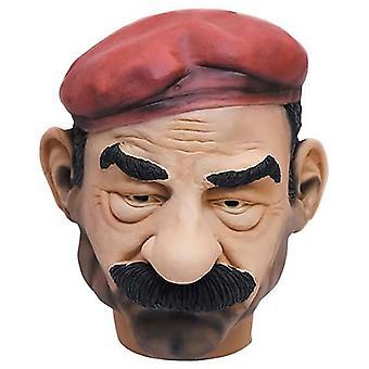 Saddam Hussein Maske Irak Diktator Saddammaske Tyrann Karneval