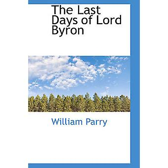 De siste dagene av Lord Byron av Parry & William
