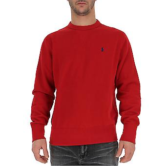 Ralph Lauren Red Wool Sweater