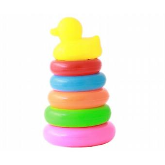 Plastic Stacking Rings With Duck Top 19cm