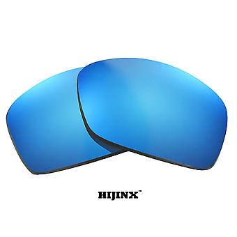 HIJINX Replacement Lenses Polarized Blue Mirror by SEEK fits OAKLEY