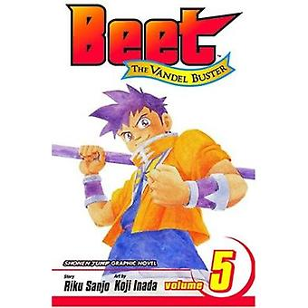 Beet the Vandel Buster by Riku Sanjo - Koji Inada - 9781591168065 Book