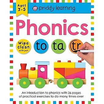 Wipe Clean Workbook Phonics by Roger Priddy - 9781783415991 Book