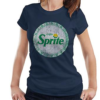 Enjoy Sprite Retro 90s Bottlecap Women's T-Shirt