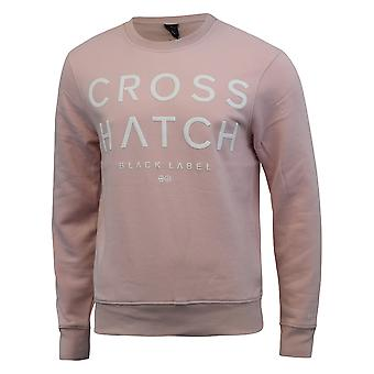 Mens sweatshirt crosshatch tetchill jumper