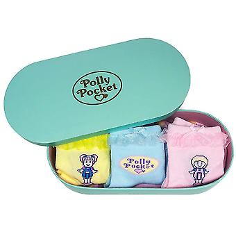 Polly Pocket calcetines frill set en caja de regalo - una talla