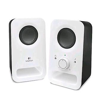 Logitech z150 loudspeakers 2.0 power tot 3w color white/black