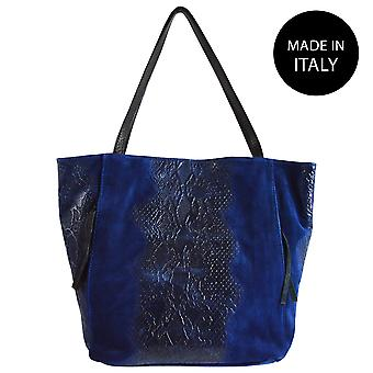 Leather shoulder bag Made in Italy 80024
