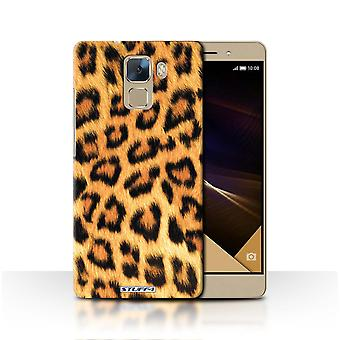 STUFF4 Case/Cover for Huawei Honor 7/Leopard/Animal Fur Pattern