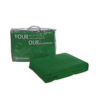 BRESSER Y-9 Hintergrundtuch 3x4m Chromakey-grün