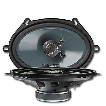 Mac audio 2-way coax car speakers, 13 x 18 cm, 5 x 7 inches, 1 pair of new goods