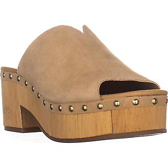 Lucky Brand Womens Simbrenna Peep Toe Clogs
